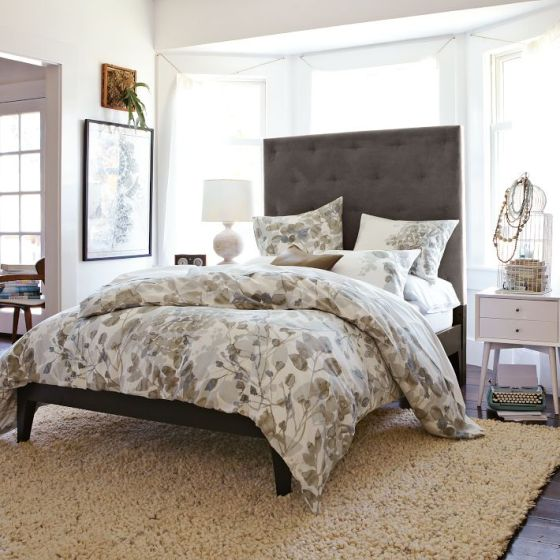 Diamond Tufted Headboard West Elm