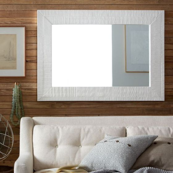 Rustic Lacquer Wall Mirror West Elm