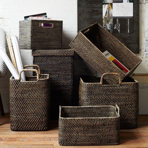 Modern Weave Basket Collection West Elm