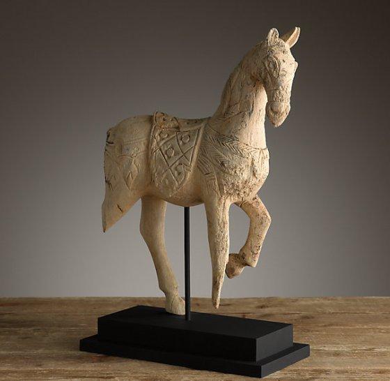 Restoration Hardware Horse