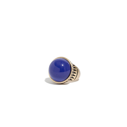 Carved Cobalt Ring Madewell