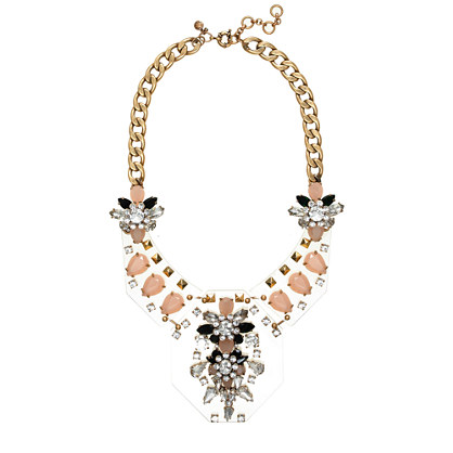 Jeweled Plates Necklace J.Crew