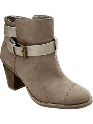 Women's Buckle-Ankle Boot Old Navy