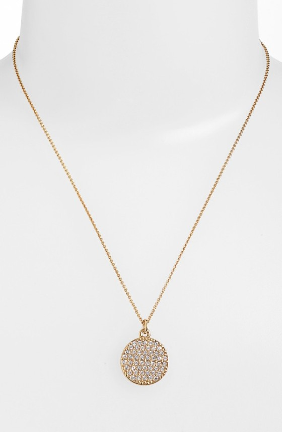 All That Glitter Idiom Necklace Kate Spade