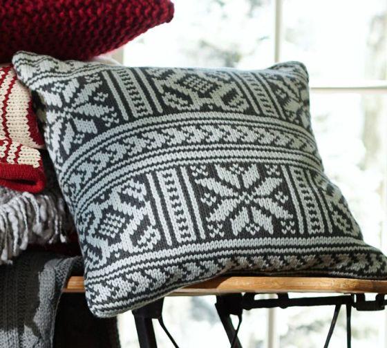 Martin Fair Isle Pillow Cover