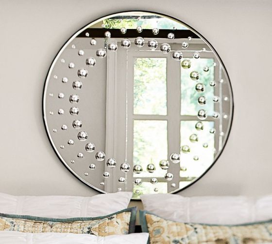 Hailey Circle Dot Mirror