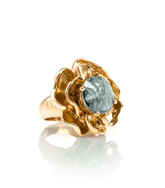 Crystal Rose Ring Tory Burch