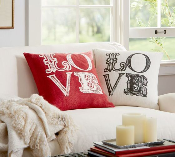 Love Sentiment Pillow Covers