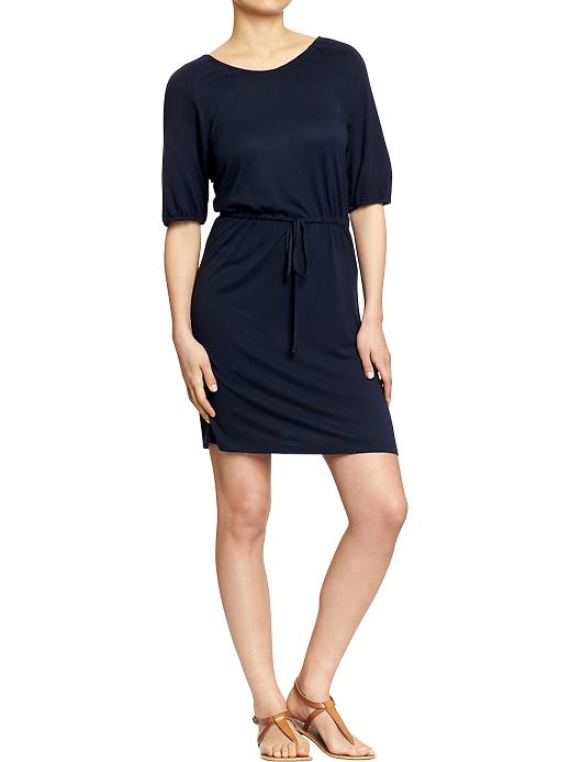Tie-Waist Jersey Dress Old Navy