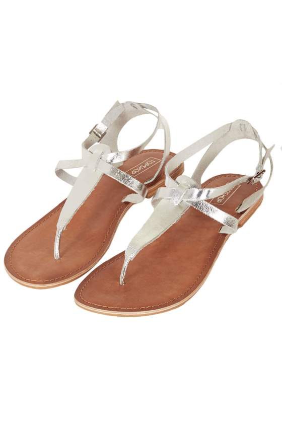 TOPSHOP Horizon Toe Post Sandal