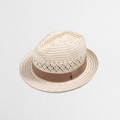 Factory Ribbon Fedora J.Crew Factory