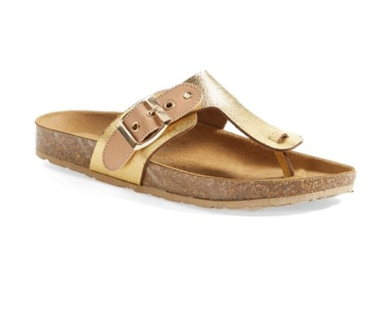 Seychelles 'Calm Down' Leather Thong Sandal