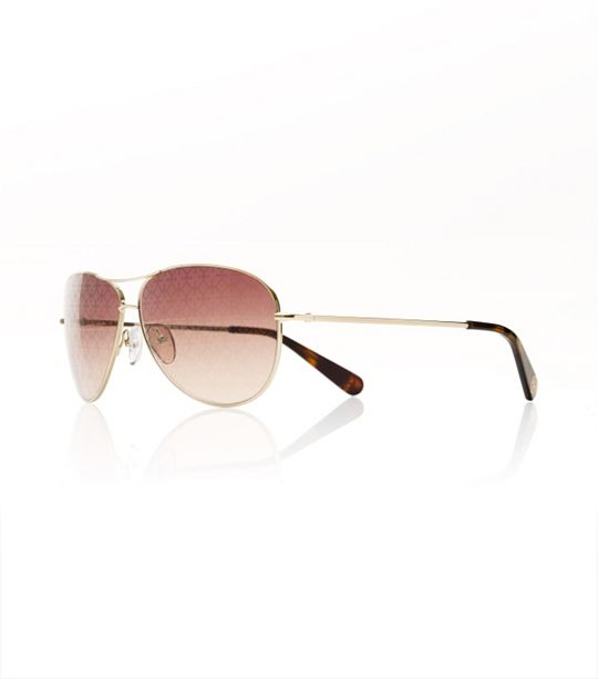 Tory Burch Gold Aviators