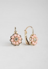 Just Peachy Earrings Ruche