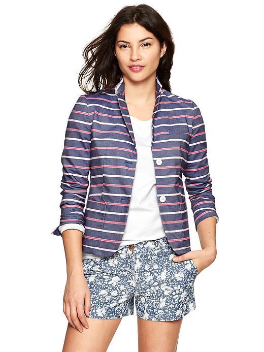 Gap Classic stripe blazer